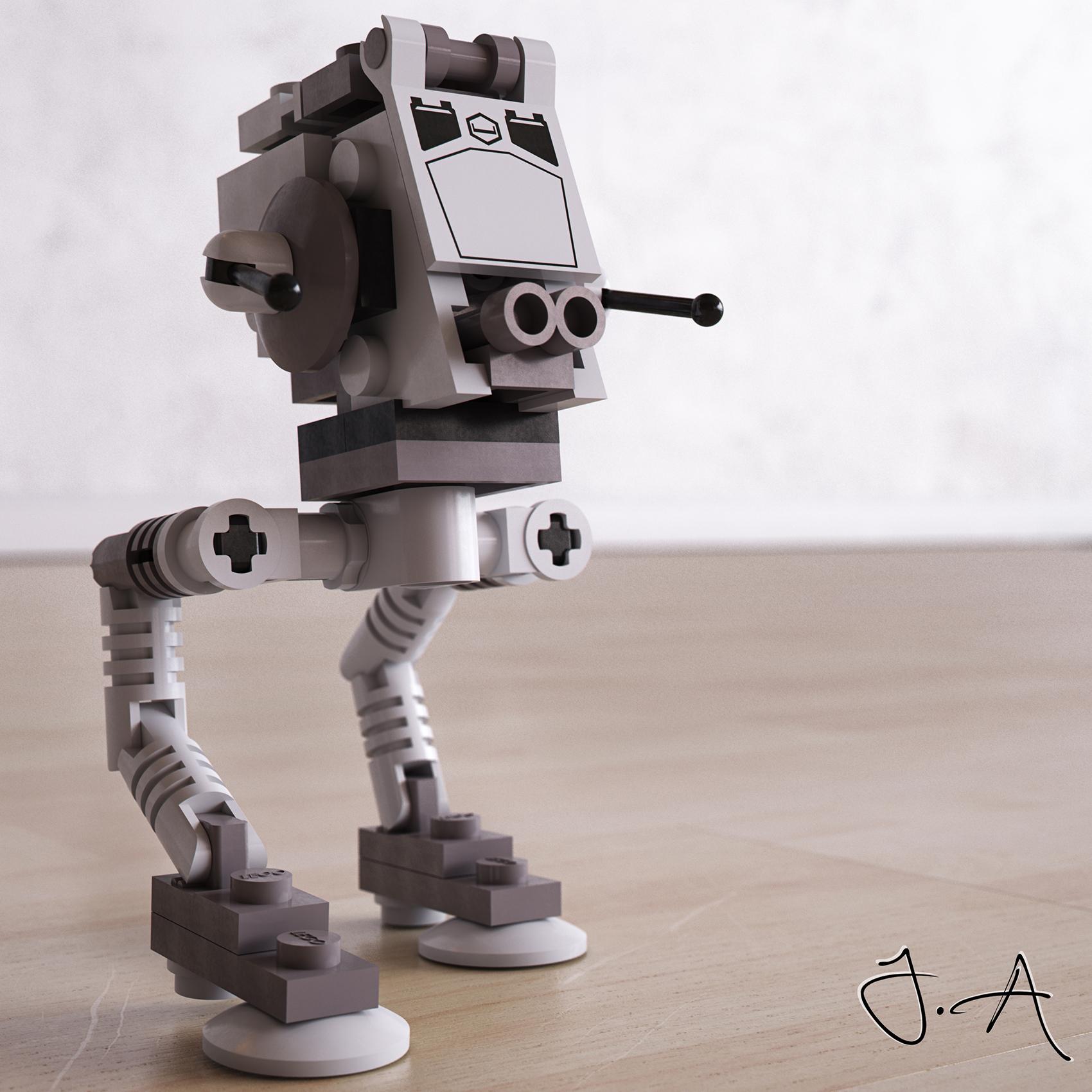 Star Wars LEGO ATST