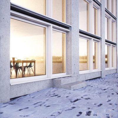 Swedish urban exterior